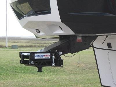 Shocker Hitch 5th Wheel Hitch Installed