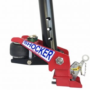 Gooseneck-Surge-air-hitch-with-shift-lock-coupler