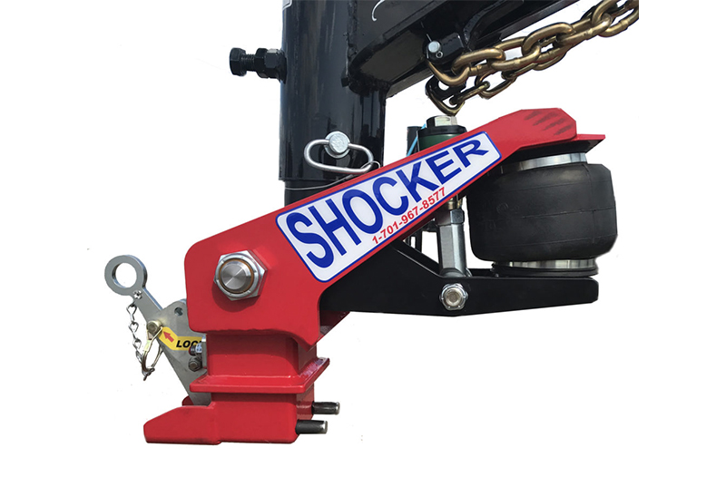 Shocker Hitches Gooseneck Surge